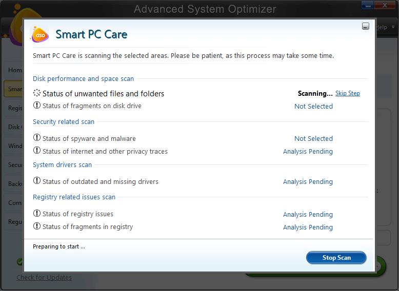 Оптимизатор регистрации