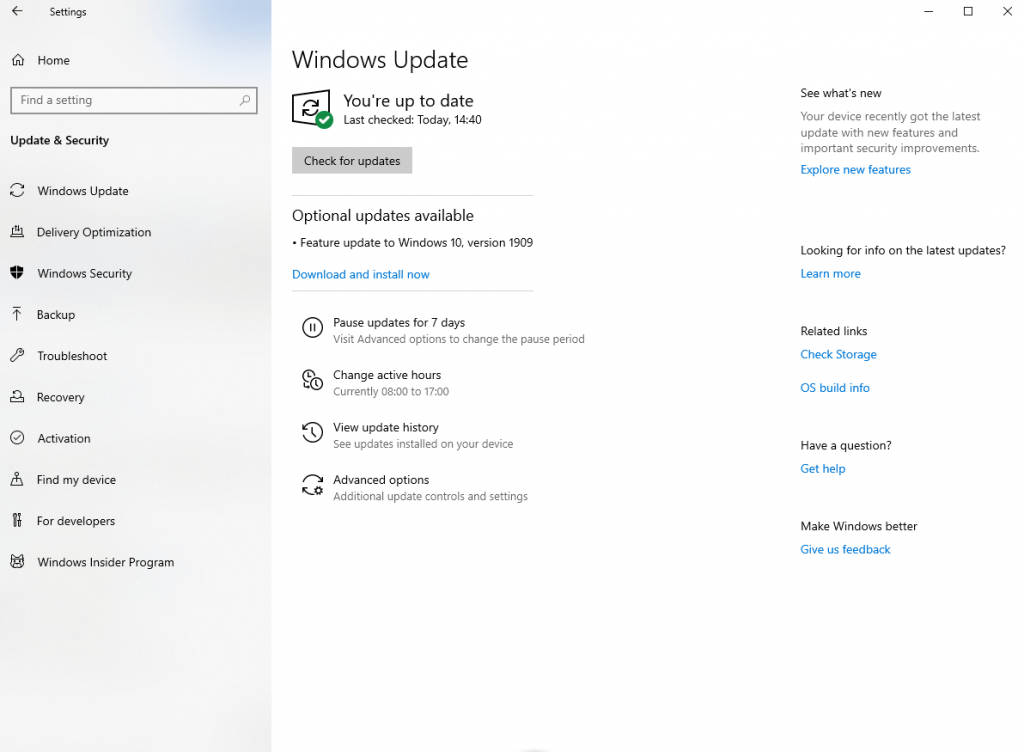 windows update - windows 10 hacks