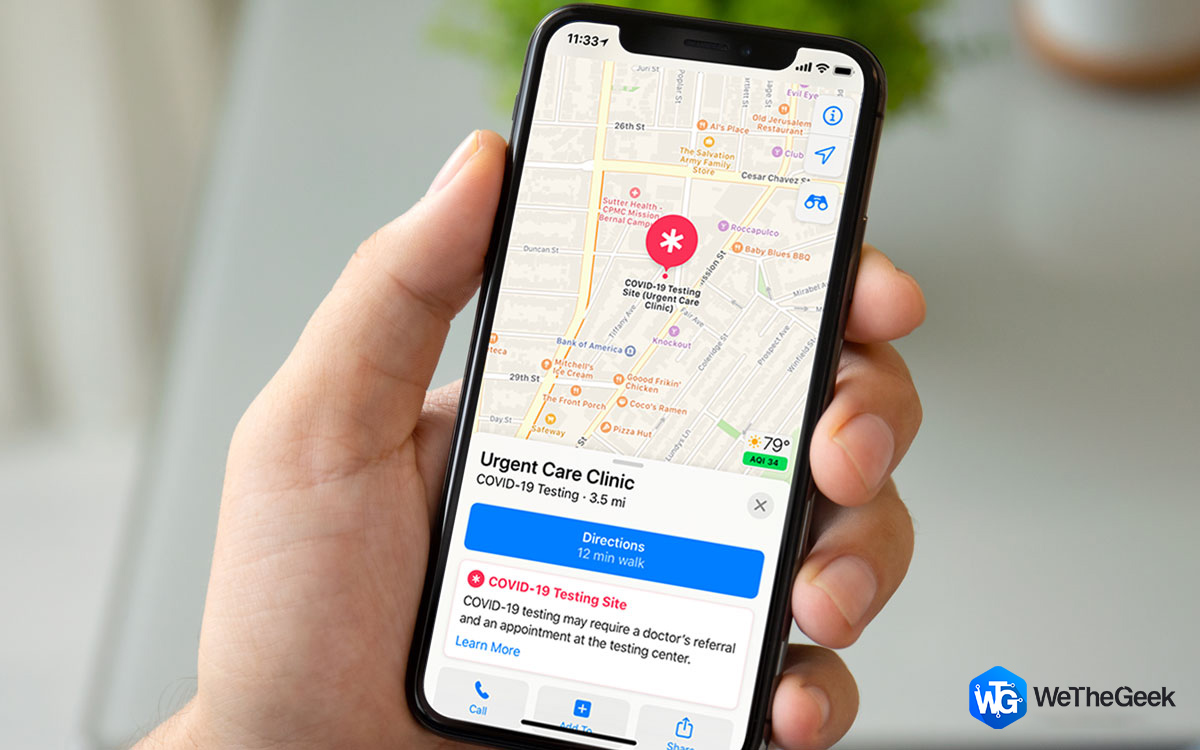 Apple Map Adds COVID-19 Testing Sites – How to Use Apple Maps to Find Testing Locations
