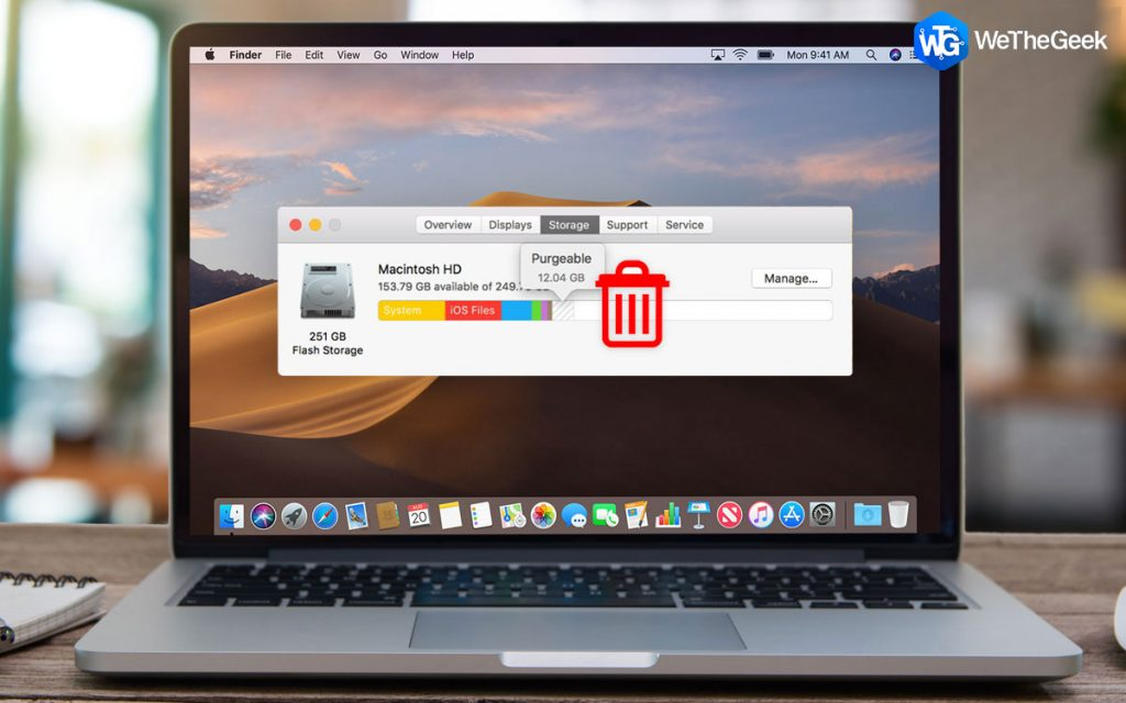 How To Remove Purgeable Space macOS Quickly