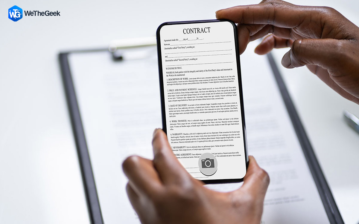 Top 8 Best Document Scanner Apps For Android & iPhone (2021)