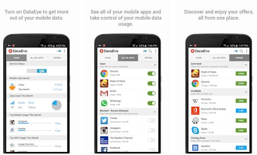 DataEye - Mobile Daten speichern