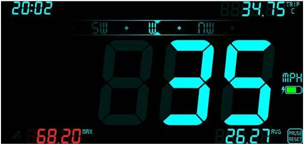 DigiHUD Tachometer