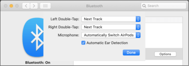 Verbinden Sie AirPods mit dem MacBook