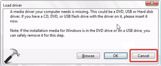 Verbinden Sie USB mit einem anderen Port