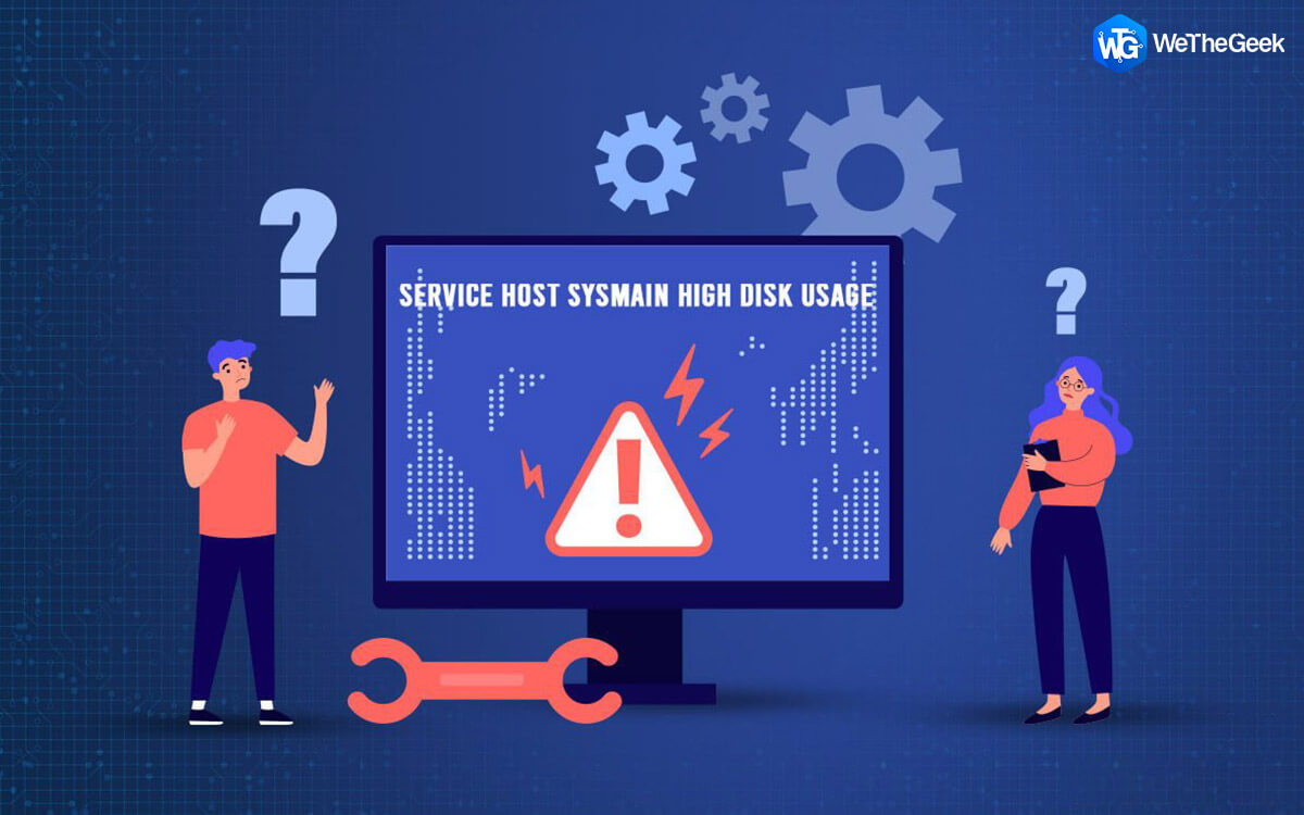 Fix – Service Host SysMain High Disk Usage In Windows 10