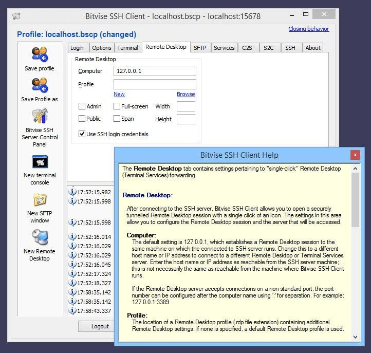 Bitvise SSH-Client