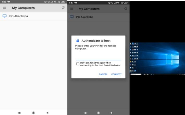 Chromebook zu Windows