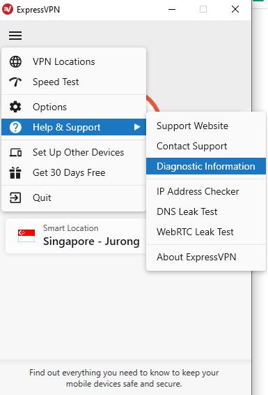 ExpressVPN verbindet sich nicht