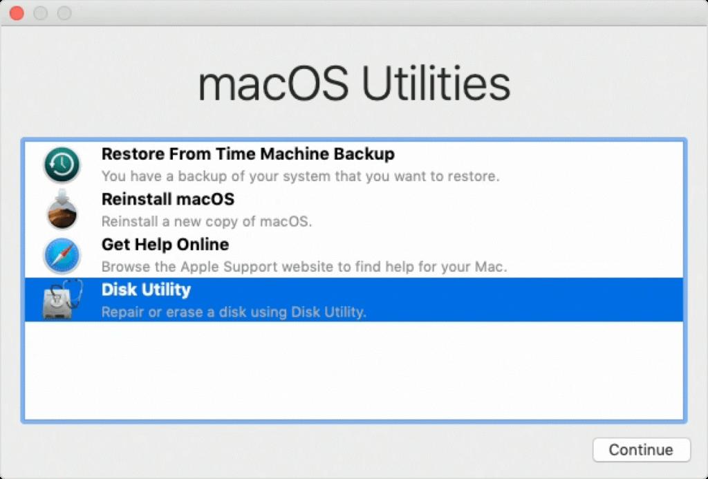 MacBook Air auf Werkseinstellungen zurücksetzen