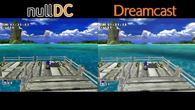 NullDC - Sega Dreamcast-Emulatoren