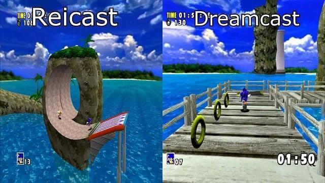 Reicast -Sega Dreamcast-Emulatoren