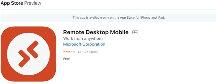 Remotedesktop für Mobilgeräte