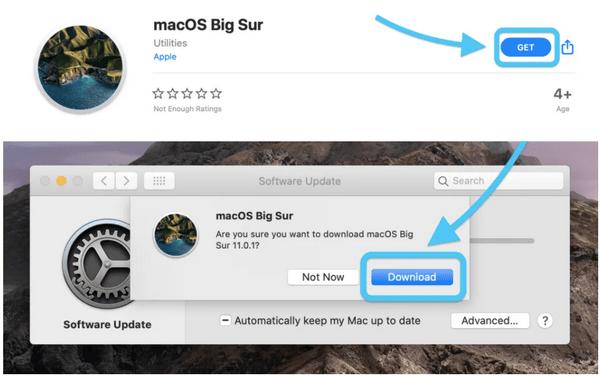 So installieren Sie das macOS Big Sur-Update