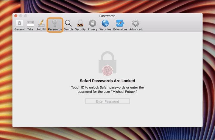 Geben Sie Ihren Mac ein