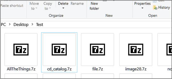 Was sind 7z-Dateien?