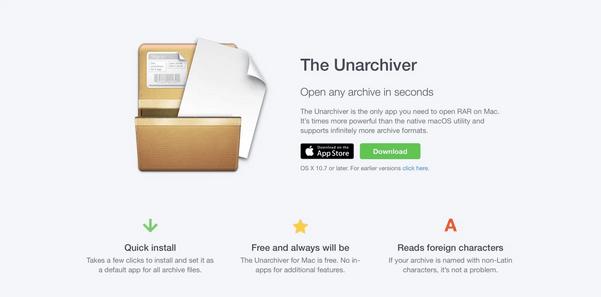 So öffnen Sie 7z-Dateien auf dem Mac