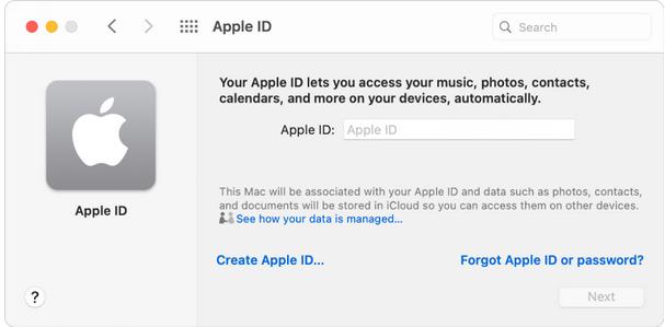 Versuchen Sie es mit einer anderen Apple-ID