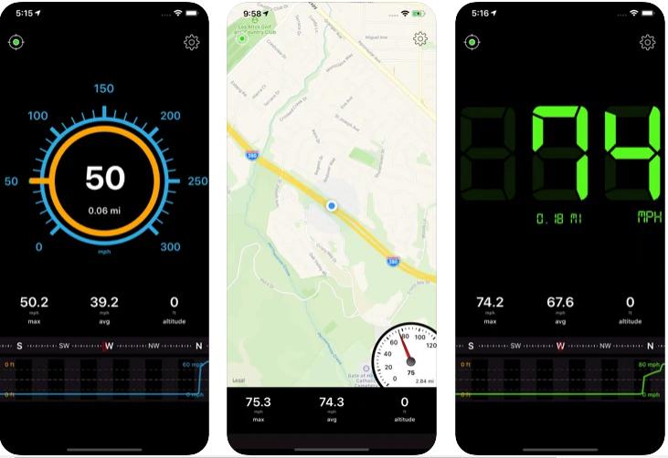 Tachometer Speed Box App