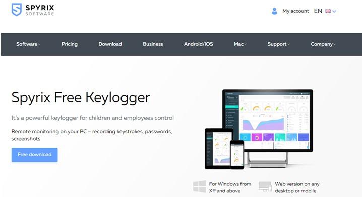 Spyrix Free Keylogger