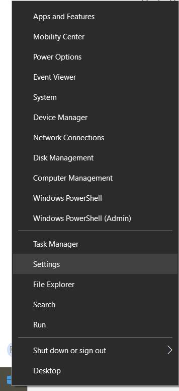 Fehler Element nicht gefunden unter Windows 10