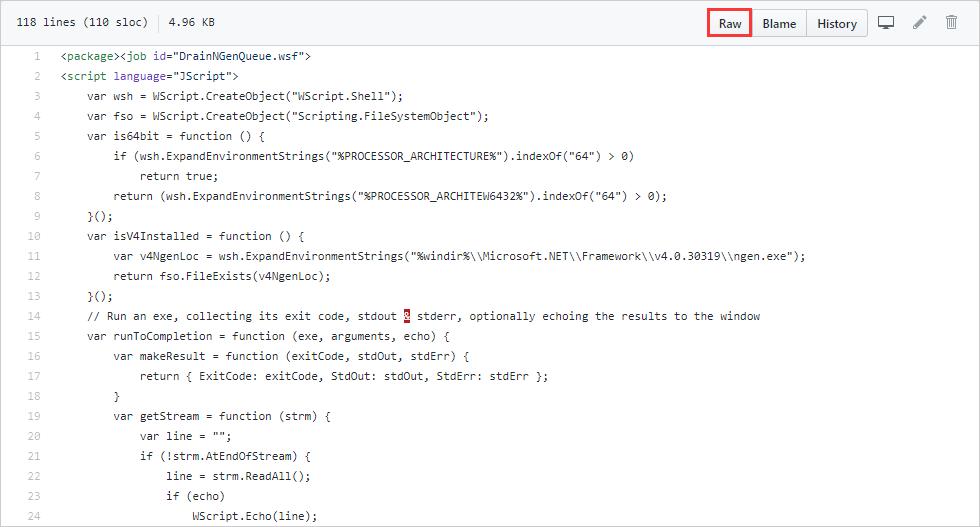 .NET-Laufzeitoptimierungsdienst Hohe CPU-Auslastung