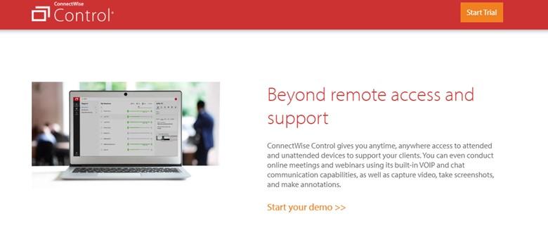 Connectwise-Steuerung