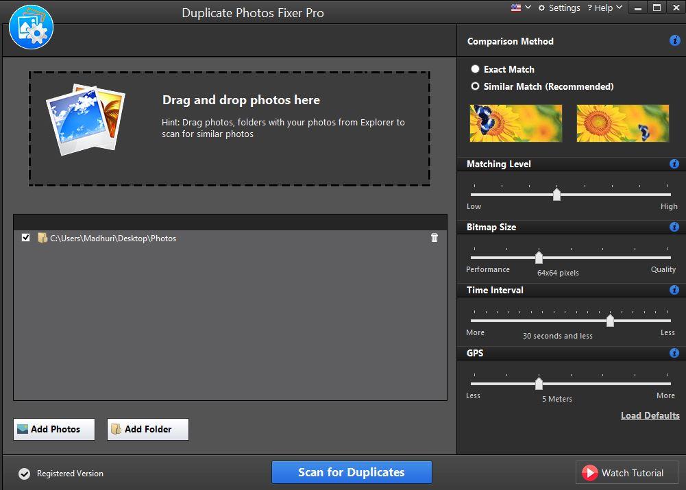 Duplicate Cleaner vs Duplicate Photo Fixer Pro