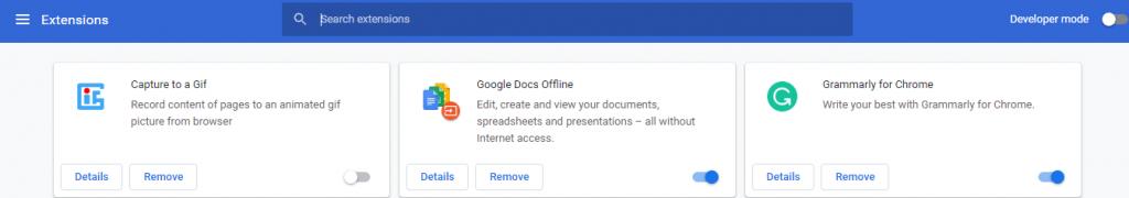 Google Chrome использует очень высокое энергопотребление