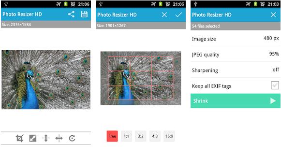 Beste Foto-Resizer-Apps