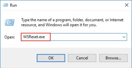 Löschen Sie den Microsoft Store-Cache