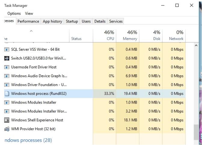 Windows-Hostprozess Rundll32