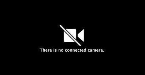 Es gibt keine verbundene Kamera