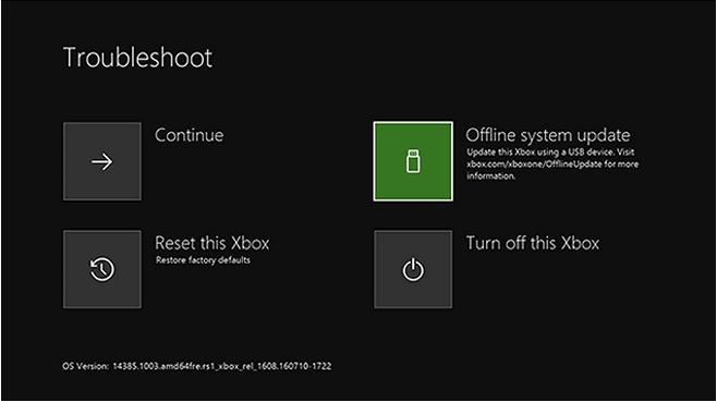 Aktualisieren Sie die Xbox-Konsole