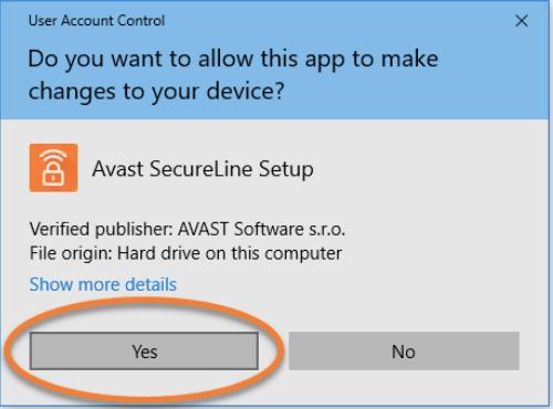 Настройка Avast SecureLine VPN