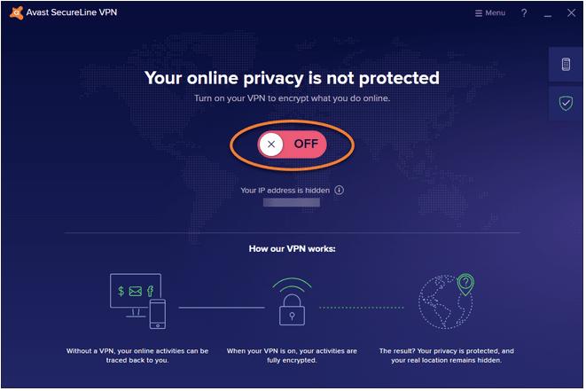 подключиться к серверам Avast SecureLine VPN.