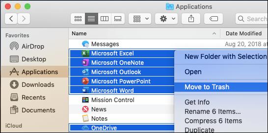 Deinstallieren Sie Microsoft Office ganz einfach auf Ihrem Mac