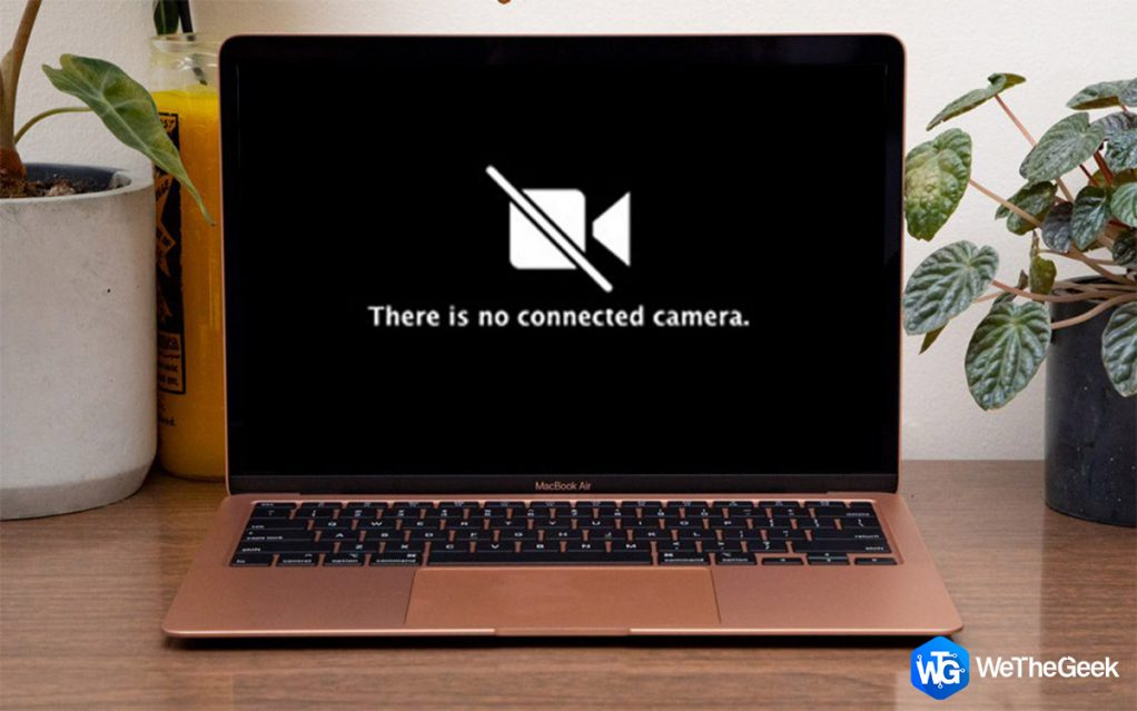 "Fixing ""There Is No Connected Camera"" Error With Mac"