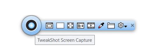 TweakShot Захват экрана