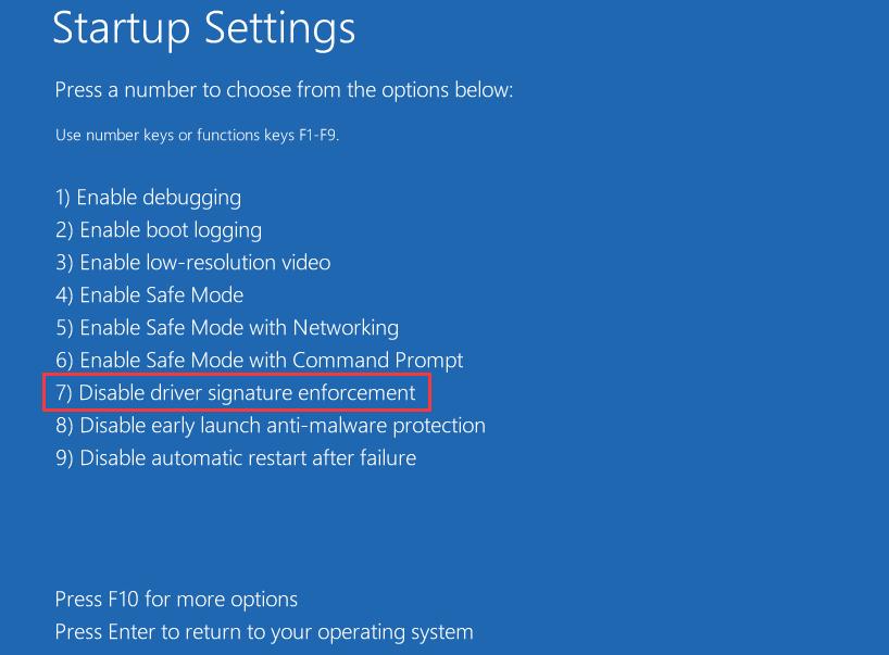 Windows не может проверить ошибку цифровой подписи
