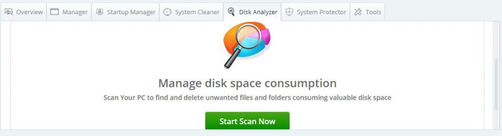 Анализатор дисков
