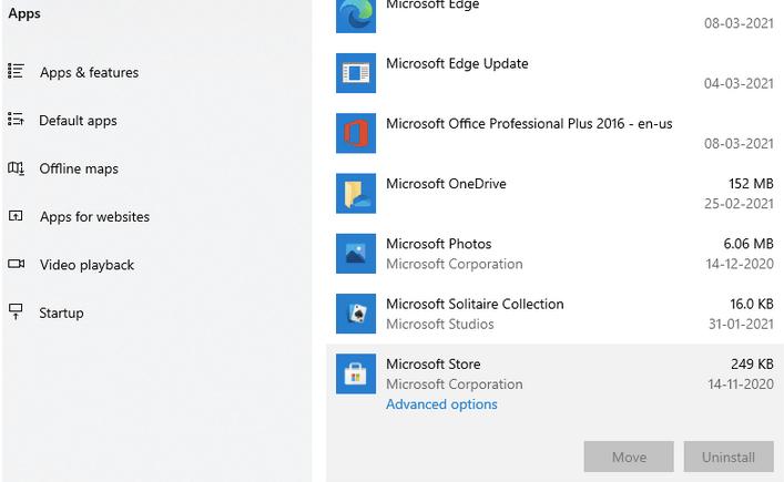 Исправить ошибку Microsoft Store в Windows