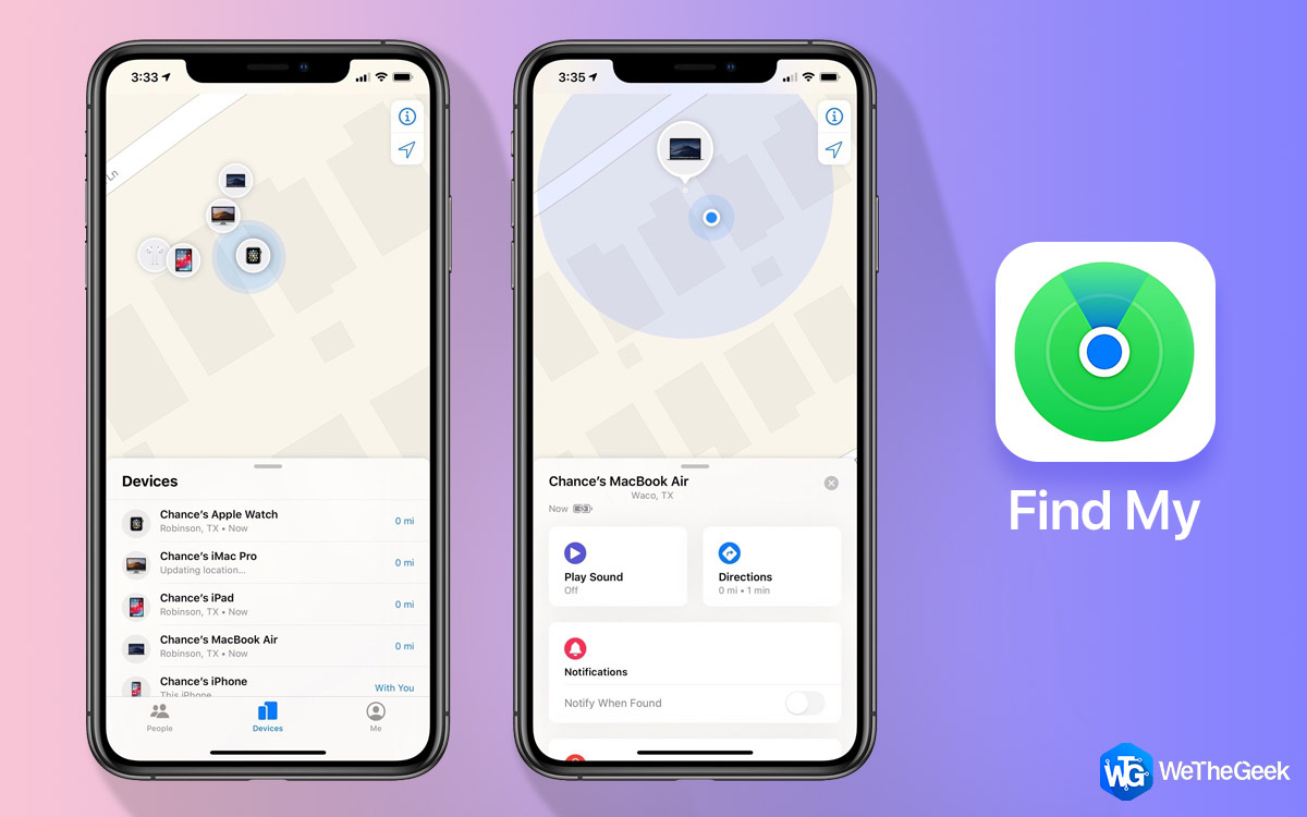 Here's What Apple Has Added to Find My Feature