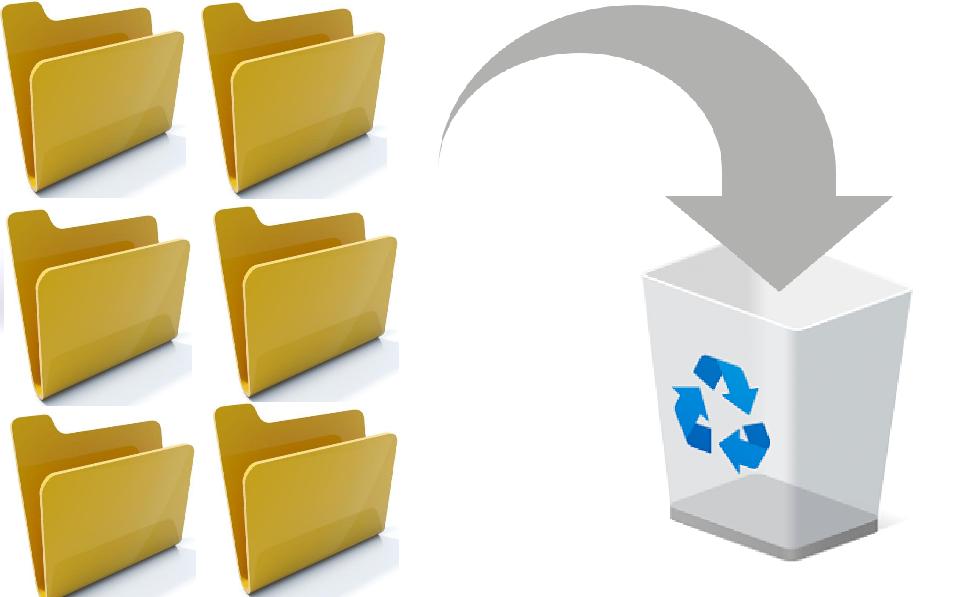 Leere Dateien und Ordner entfernen