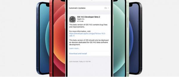 Laden Sie die öffentliche Betaversion von iOS 14.5 herunter