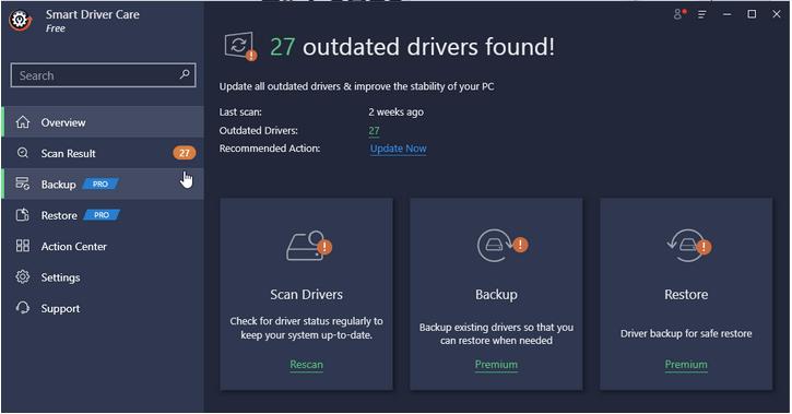 Intelligente Fahrerpflege