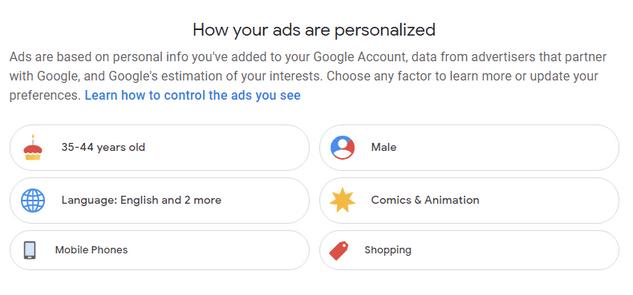Faktoren, die die Google-Produkte beeinflussen