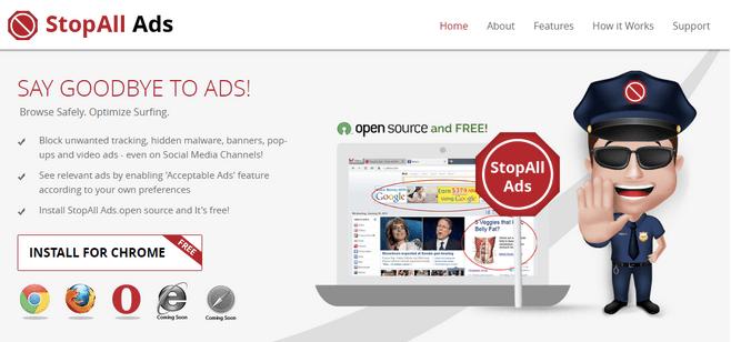 Was ist StopAll-Anzeigen?