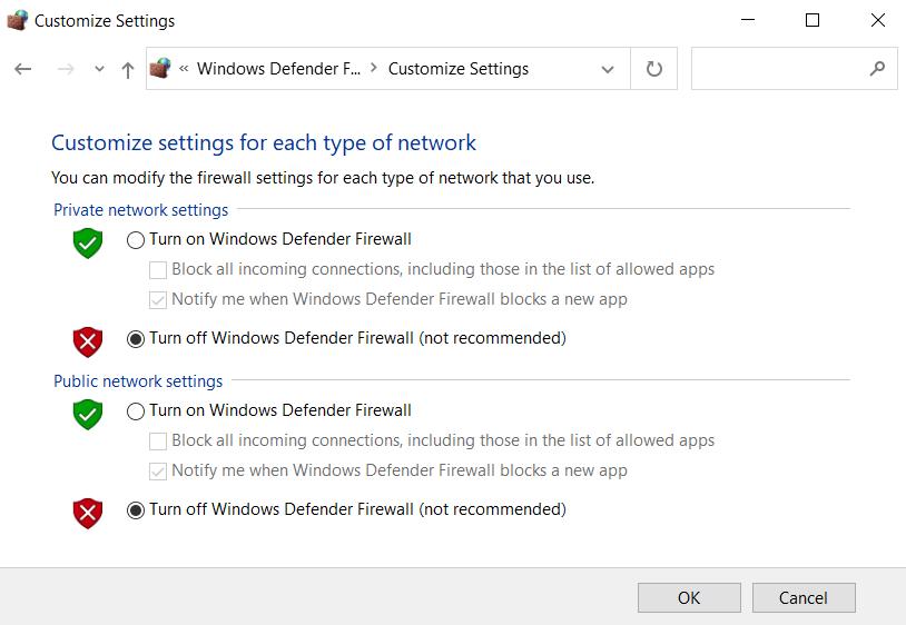 VPN-Fehler 807 beheben
