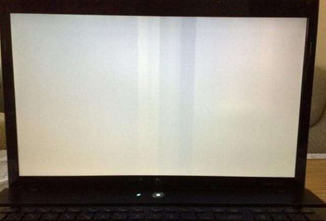Weißer Bildschirm des Todes